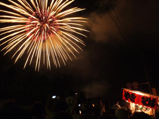 Japanese fireworks festival